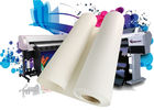 Latex / Eco Solvent Inkjet Cotton Canvas Matte Glossy Canvas Print For Digital Plotter