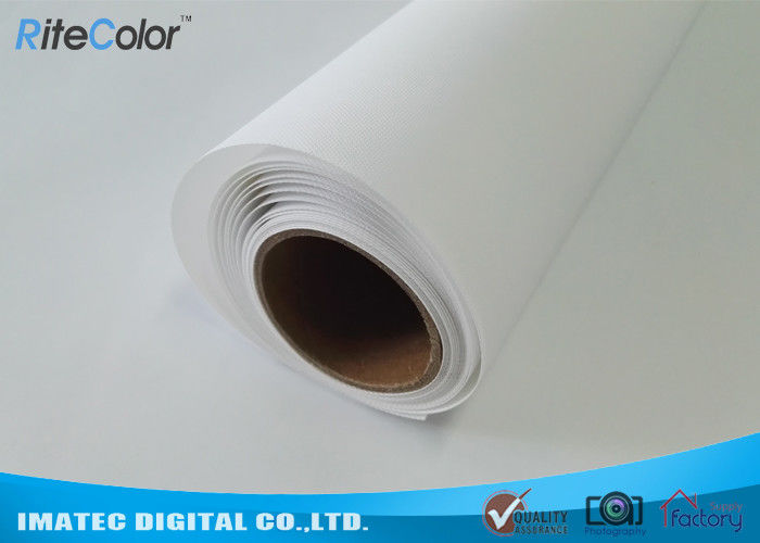 Large Format Matte Polyester Canvas Rolls For Art Inkjet Digital Printing