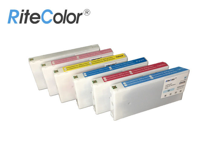 6 Colors 200ml Sublimation Printer Ink Cartridge For Fujifilm DX100 Print Plotter