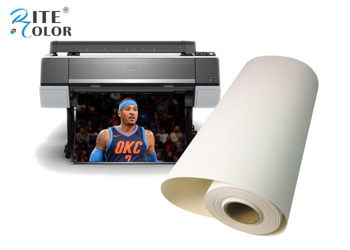 Polyester Canvas Roll Inkjet Print Artist Matte Water-based 380gsm